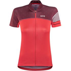 GORE WEAR C5 Bike Jersey Shortsleeve Women red